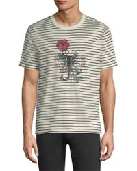 The Kooples - Striped T-shirt - Lyst