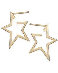 Jennifer Zeuner - Sade Small Star Earrings - Lyst
