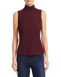 Theory - Wendel Sleeveless Top - Lyst