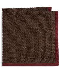 Brioni - Knit Silk Pocket Square - Lyst