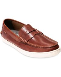 Cole Haan - Pinch Weekender Leather Penny Loafers - Lyst