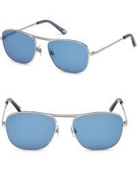 Web - Aviator Sunglasses - Lyst