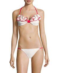 Marysia Swim - Zuma Ruffled Bikini Top - Lyst