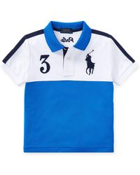 Ralph Lauren - Little Boy's & Boy's Colorblock Mesh Polo - Lyst