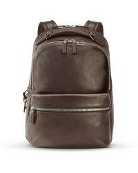 Shinola - Runwell Leather Backpack - Lyst