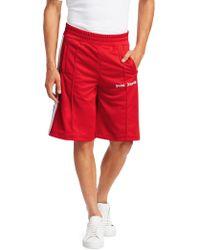 Palm Angels - Side Stripe Track Shorts - Lyst