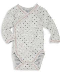 Petit Bateau - Baby's Polka Dot Bodysuit - Lyst