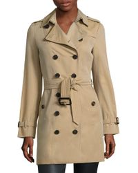 dc1f77b5e828a4 Burberry - Women's Sandringham Mid-length Heritage Trench Coat - Honey -  Lyst