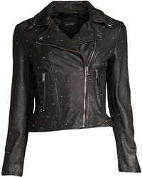 Lamarque - Piper Studded Jacket - Lyst