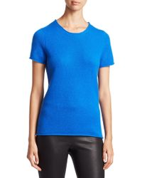 Saks Fifth Avenue - Collection Cashmere Tee - Lyst