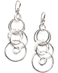 Ippolita - Glamazon Sterling Silver Jet Set Drop Earrings - Lyst