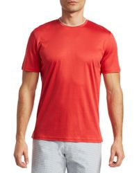 Saks Fifth Avenue - Collection Short Sleeve T-shirt - Lyst