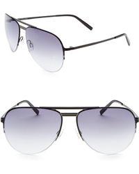 Barton Perreira - Aviator Sunglasses - Lyst