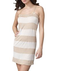 Vera Wang - Great Escape Chemise - Lyst