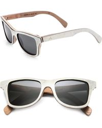 Shwood - Canby Acetate, Slate and Wood Sunglasses - Lyst