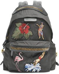 Stella McCartney | Zip Embroidered Backpack | Lyst