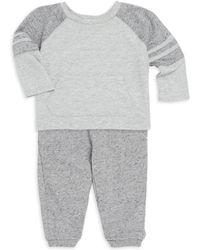 Splendid - Baby Boy's Raglan Sleeve Top And Joggers Set - Lyst