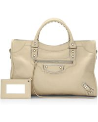 Balenciaga - Hemming Accent Leather Tote - Lyst