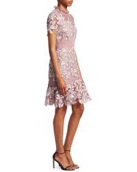 Sea - Mosaic Floral Crochet Dress - Lyst