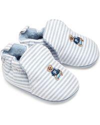 Ralph Lauren | Baby's Percie Stripe Oxford Booties | Lyst