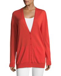 ESCADA | Spheres V-neck Cardigan | Lyst