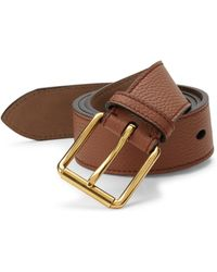 Burberry - Mark Roller Leather Belt - Lyst