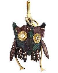 Burberry - Owl Cotton Bag Charm - Lyst