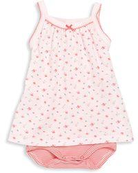 Petit Bateau - Baby's Strappy Bodysuit Dress - Lyst