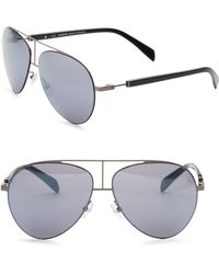 Balmain - Metal Aviator Sunglasses - Lyst