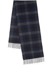 Theory - Novelty Cashmere & Wool Plaid Scarf - Lyst