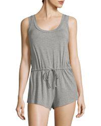 Saks Fifth Avenue - Maddie Heathered Short Jumpsuit - Lyst