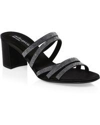 Pedro Garcia - Xaki Embellished Sandals - Lyst