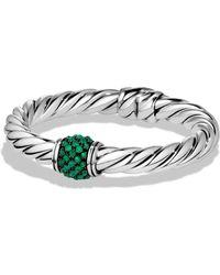 David Yurman - Osetra Bracelet With Gemstones - Lyst