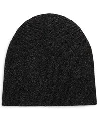 Saks Fifth Avenue - Collection Metallic Cashmere Toque - Lyst