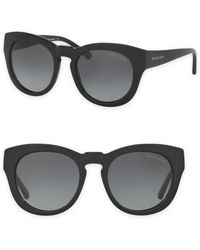 Michael Kors - 50mm Summer Breeze Round Sunglasses - Lyst