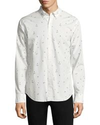 Bonobos - Skier Cotton Button-down Shirt - Lyst