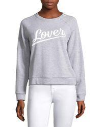 Rebecca Minkoff - Lover Graphic Sweatshirt - Lyst