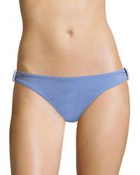 Shoshanna - Knot Bikini Bottom - Lyst