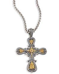 Konstantino - Penelope Cross Pendant - Lyst