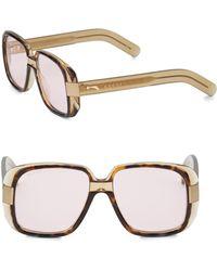 Gucci - 51mm Square Sunglasses - Lyst
