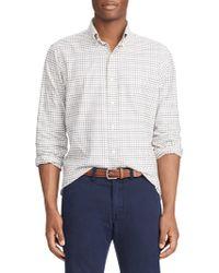 Polo Ralph Lauren - Twill Class Fit Sport Shirt - Lyst