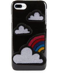 Les Petits Joueurs - Cloud Iphone 7 Patent Leather Case - Lyst
