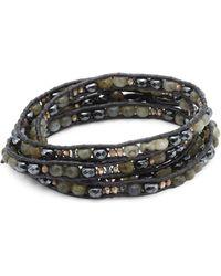 Chan Luu - Labradorite Mix Wrap Bracelet - Lyst