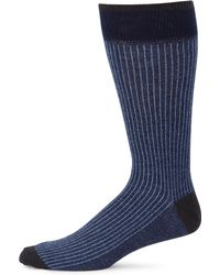 Saks Fifth Avenue | Collection Stripe Knitted Socks | Lyst