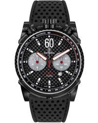 CT Scuderia Fibra Di Carbonio Stainless Steel Watch - Black