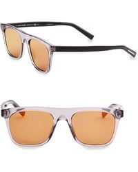 Dior Homme - Dior Walk 51mm Square Sunglasses - Lyst