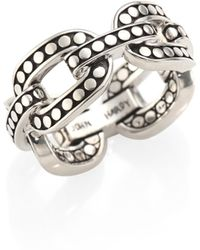 John Hardy - Dot Sterling Silver Band Ring - Lyst