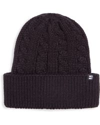Block Headwear - Men s Cable Knit Cuff Beanie - Light Heather Grey - Lyst 2afe950a9