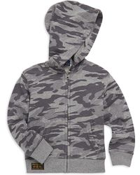 Ralph Lauren - Little Boy's & Boy's Camo-print Full-zip French Terry Hoodie - Lyst