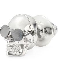 Tateossian - Aviator Skull Pin - Lyst